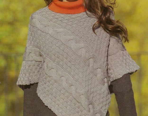Super Schema mantella di lana bambina - Mamme Magazine DP96