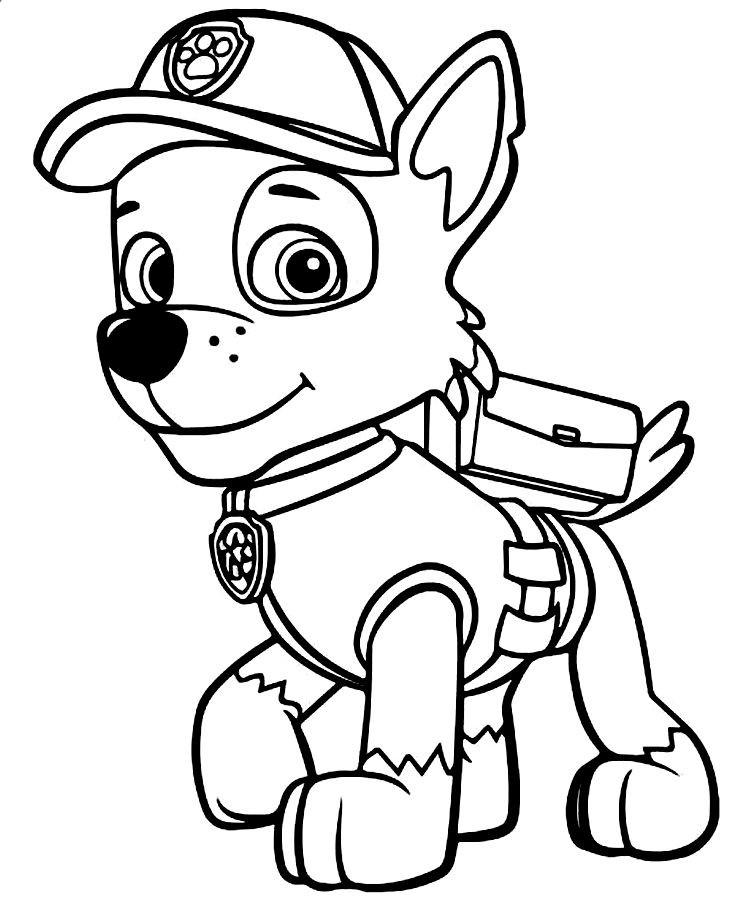 Disegni da colorare wallykazam mamme magazine for Disegni da stampare paw patrol