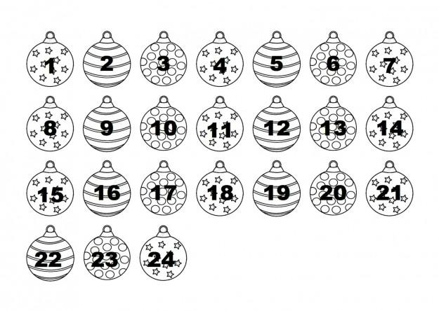 Calendario Dellavvento Da Stampare Per Bambini.Idee Calendario Avvento Per Bambini Da Colorare Mamme Magazine