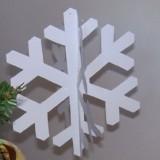come fare fiocco di neve di carta