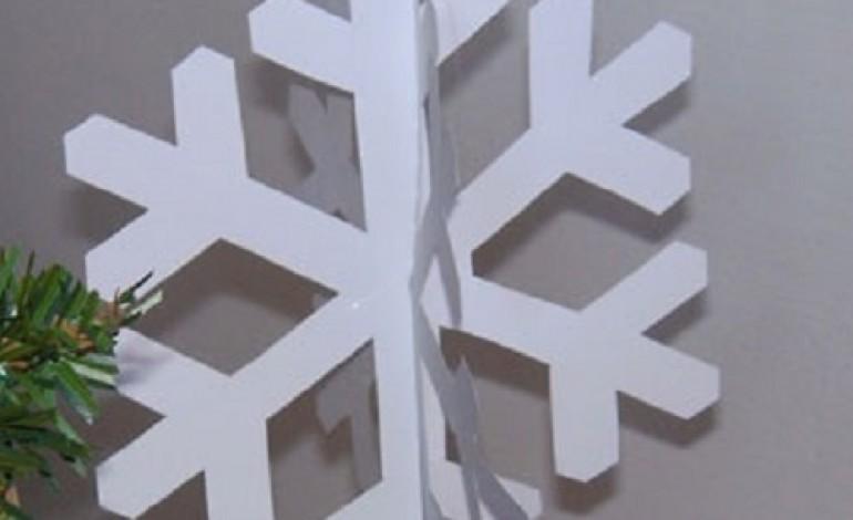 Come fare fiocchi di neve con la carta COMMENTA