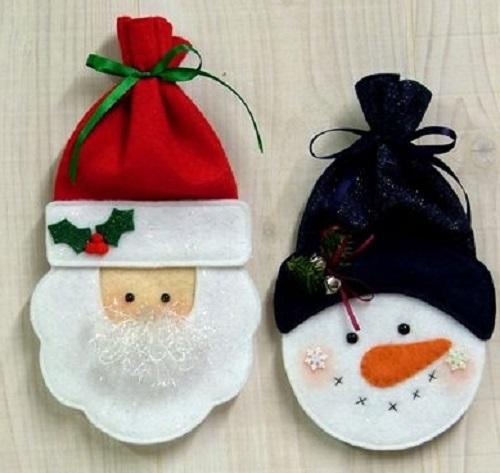 3 Lavoretti Natale Per Bambini Con Feltro