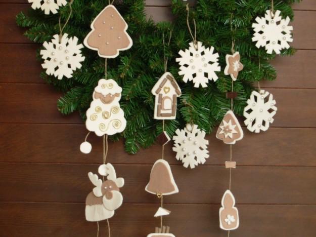 Come fare decorazioni albero di natale con pasta di sale - Decorazioni di natale con materiale riciclato ...