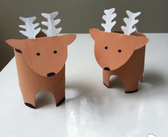 Come fare renne natale con rotoli carta igienica mamme - Fatti di gargoyle per bambini ...