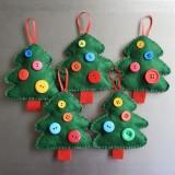 Idee lavoretti di Natale con il feltro