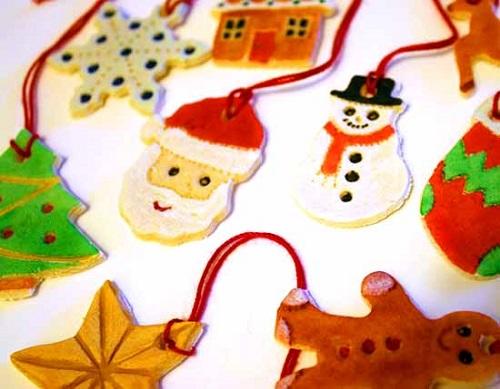 Segnaposto Natalizi Pasta Di Sale.Idee Lavoretti Natale Con Pasta Di Sale Per Bambini Mamme Magazine