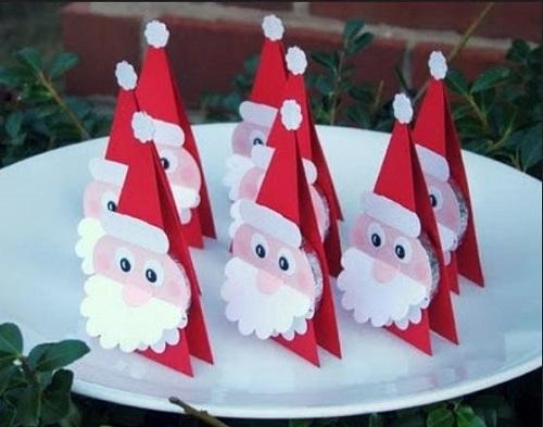 idee per dei segnaposti natalizi
