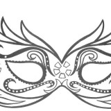 Disegni da colorare per bambini biancaneve for Maschera di flash da colorare