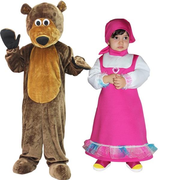 Trucco carnevale masha di e orso mamme magazine