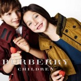 linea vestiti primaverili per bimbi Burberry