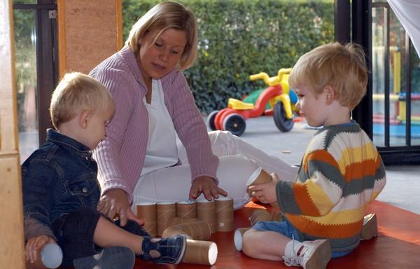 "Tournai, 19/09/2003, daycare centre ""le clair matin in Tournai.  (PHOTO / REPORTERS © CORALIE CARDON)   crèche day-care center  day nursery nursery child care"
