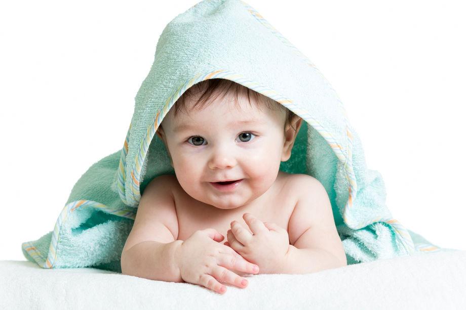 Dermatite di atopic del bambino 4 anni