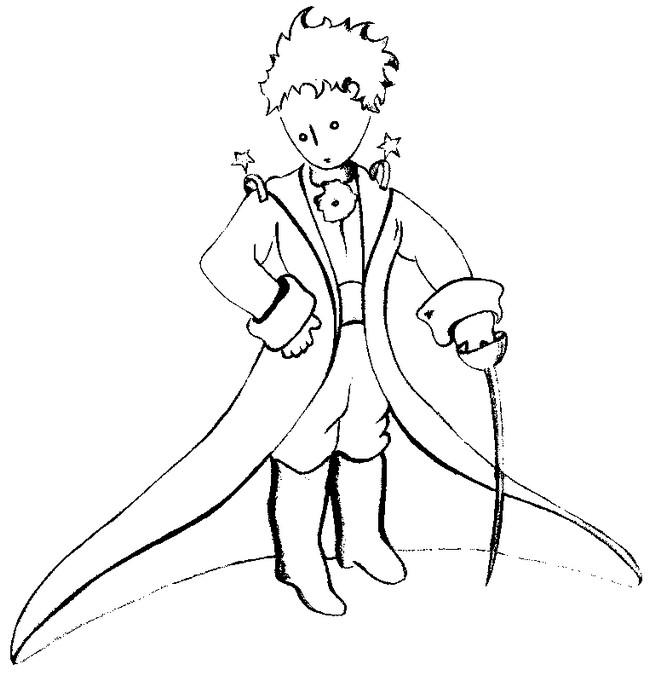 Disegno Volpe Piccolo Principe.Disegni Del Piccolo Principe Da Colorare Mamme Magazine