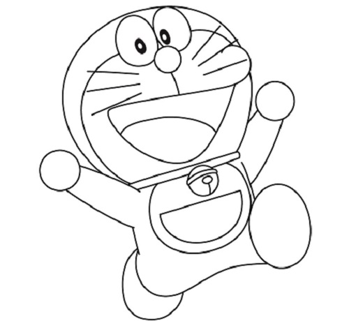Disegni da colorare doraemon mamme magazine for Doraemon immagini da colorare