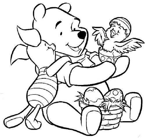 Disegni Da Colorare Pasqua Winnie Pooh Mamme Magazine