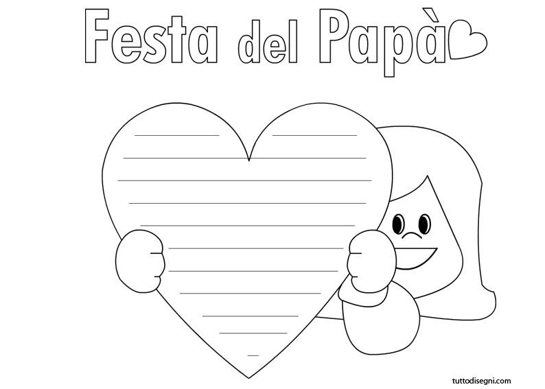 5 Disegni Bambina Per Festa Del Papà Mamme Magazine