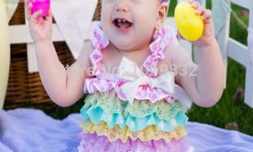 Come vestire i neonati per Pasqua