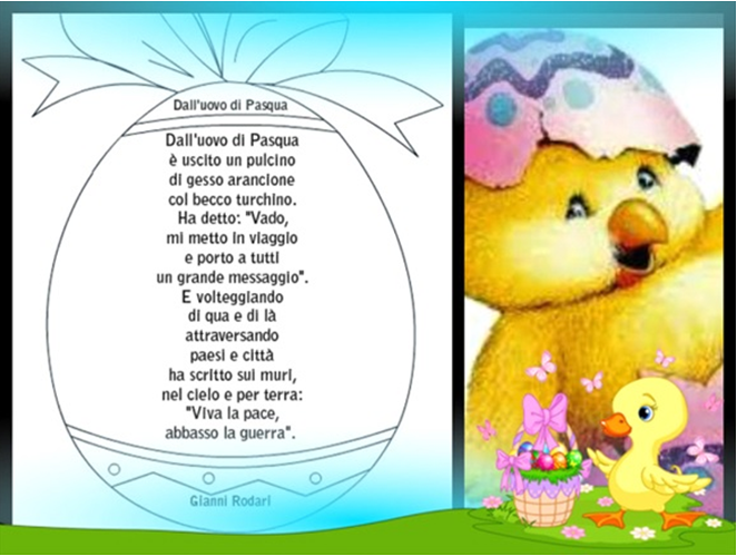 Top Poesie di Gianni Rodari sulla Pasqua - Mamme Magazine JM05