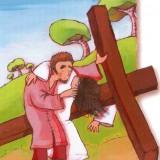 come illustrare le stazioni della via crucis ai piccoli