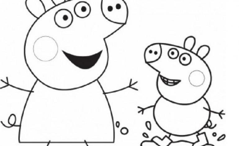 Disegni da colorare pasqua peppa pig mamme magazine for Immagini peppa pig da colorare