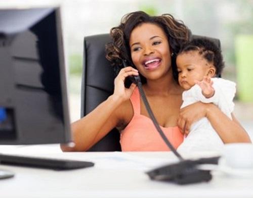 lati positivi del coworking per madri e figli