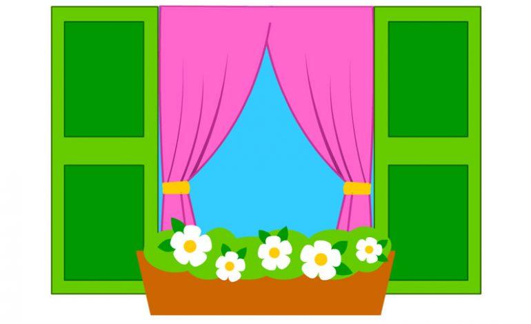 ... disegni sulla primavera per i bambini da fare sulle finestre commenta