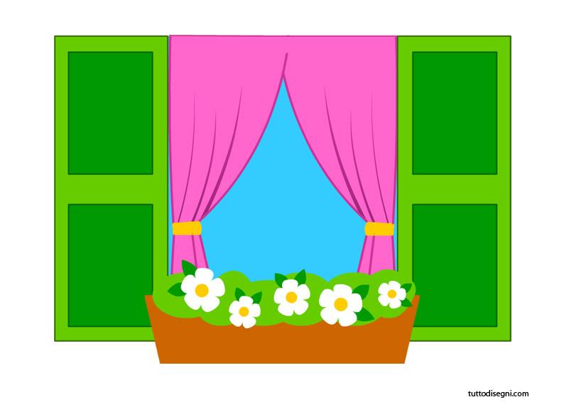 5 disegni sulla primavera per i bambini da fare sulle for Finestra rinascimentale disegno