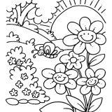 5 disegni sulla primavera per i bambini dell'asilo