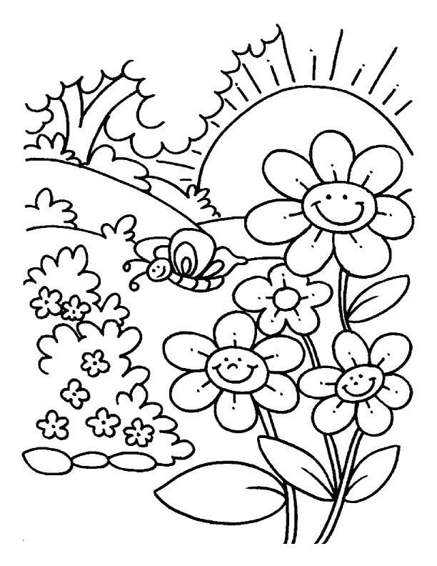 Disegni Da Colorare Primavera.La Primavera Lessons Tes Teach
