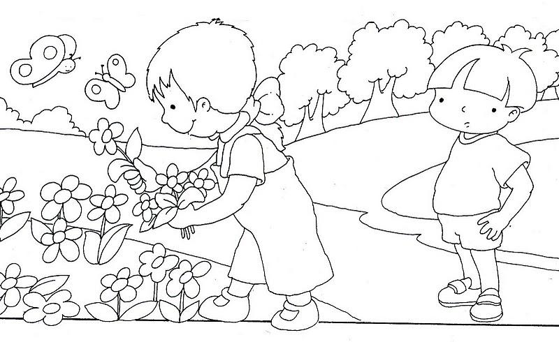 5 Disegni Sulla Primavera Per I Bambini Mamme Magazine