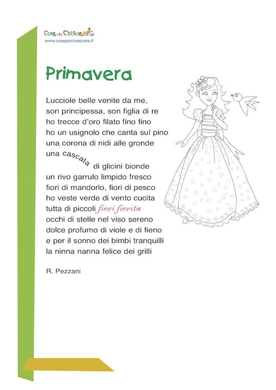 Famoso 5 poesie famose sulla primavera - Mamme Magazine GT07