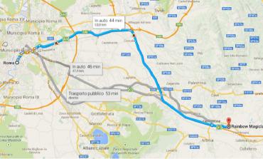 Come arrivare a Rainbow Magicland da Roma