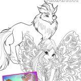 Disegni da colorare Amarok Winx Club settima stagione