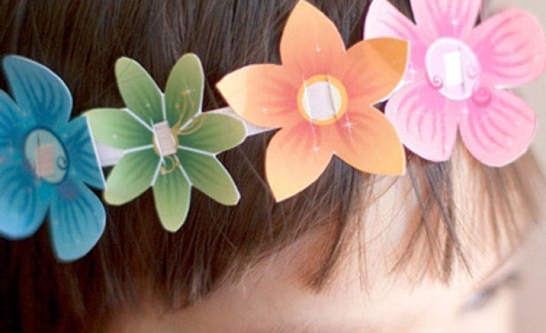 Come fare coroncina fiori per bambine