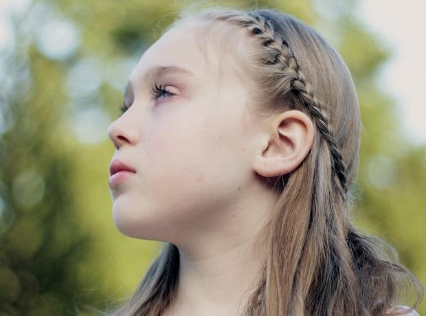 Preferenza Trecce per capelli scalati bambina prima comunione - Mamme Magazine QM04