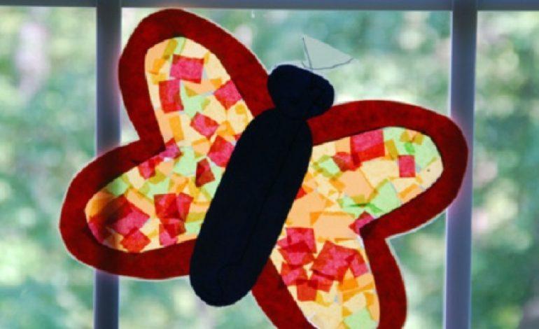 Idee lavoretti di primavera per finestre mamme magazine for Lavoretti di primavera