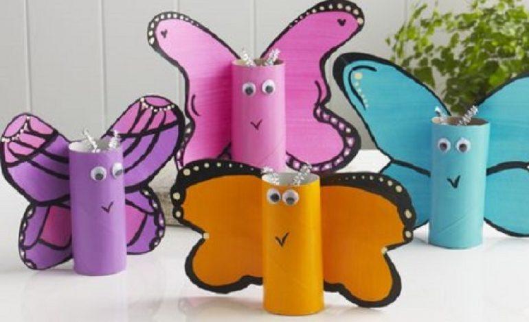 Lavoretti di primavera per bambini con materiale riciclo for Lavoretti di primavera