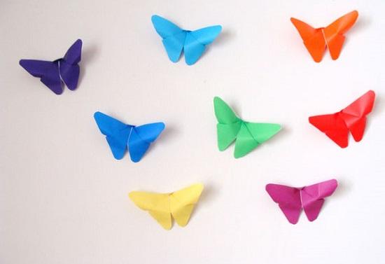 Tre origami facili di primavera mamme magazine for Disegni 3d facili per bambini