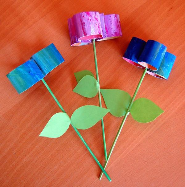 Lavoretti di primavera bambini con la carta mamme magazine for Cose semplici da costruire