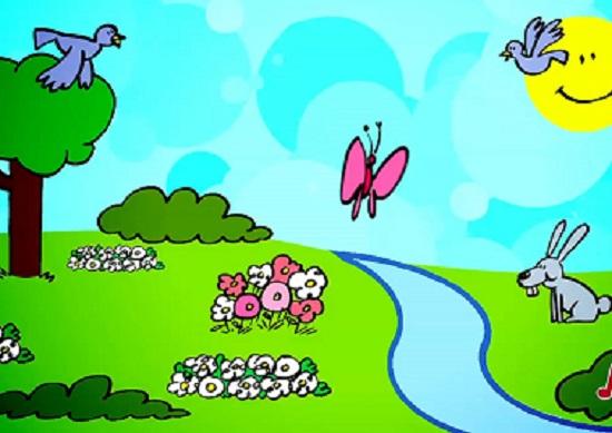 canzoni per bimbi in inglese che parlano della primavera