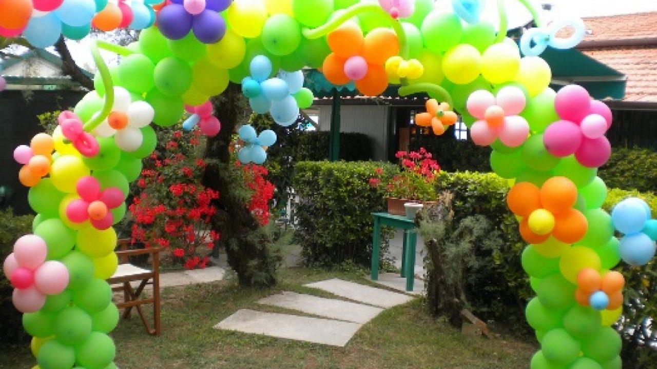 Favoloso 5 decorazioni festa compleanno con i palloncini   Mamme Magazine MU12