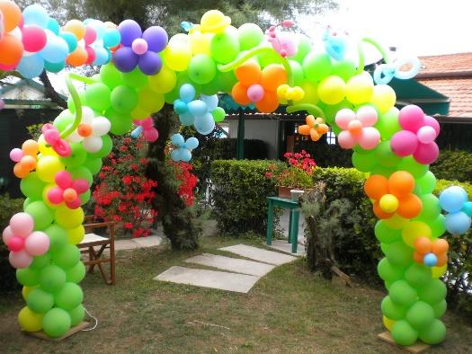 Decorazioni con palloncini per compleanno bg34 pineglen for Decorazioni feste