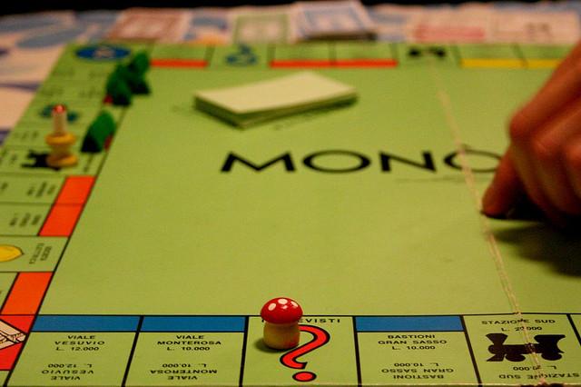 Monopoli, Regole per due Giocatori