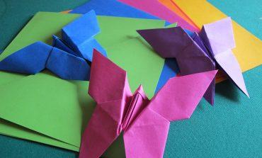 Tutorial Origami Farfalla