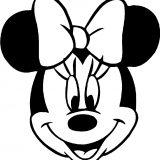 Maschere di carnevale da stampare di Minnie