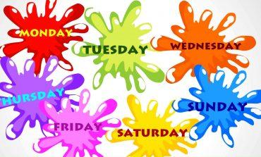 Come Insegnare ai Bambini i Giorni della Settimana