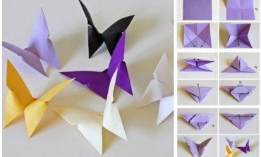 Istruzioni per Origami Farfalla Semplice