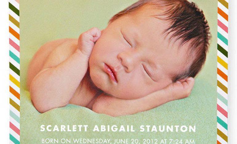 Annuncio di nascita e come scriverlo