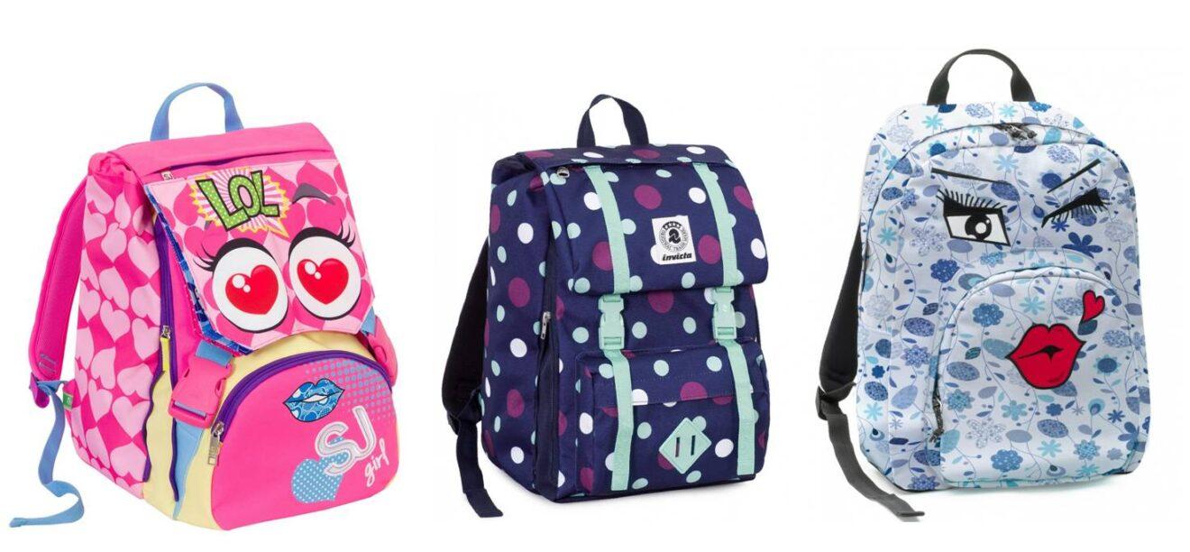 nuovo stile 1e7ed be6b7 Zaino scuola: i modelli più trendy per bambine