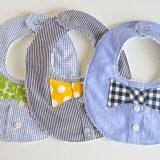 Set di bavaglini handmade per bambini